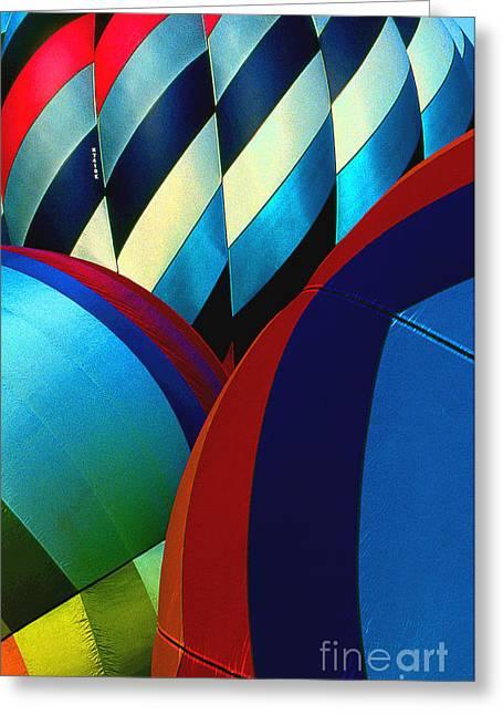 Balloon 9 Greeting Card by Rich Killion