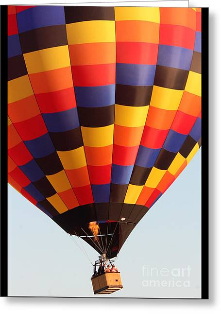 Balloon-color-7277 Greeting Card by Gary Gingrich Galleries