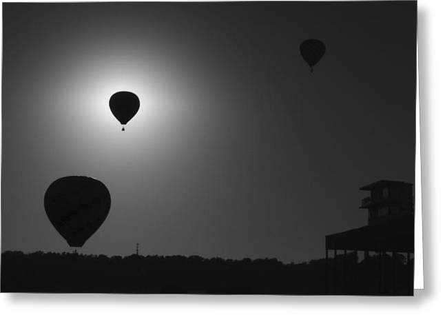 Balloon Eclipse Greeting Card