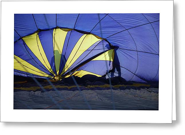 Greeting Card featuring the photograph Balloon Fantasy 4 by Allen Beatty