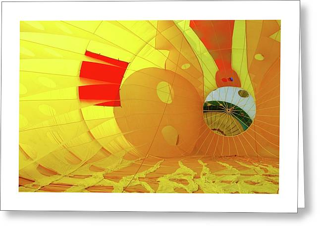 Greeting Card featuring the photograph Balloon Fantasy 6 by Allen Beatty