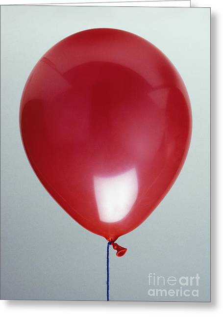 Balloon Filled Wirh Helium Greeting Card by Clive Streeter / Dorling Kindersley