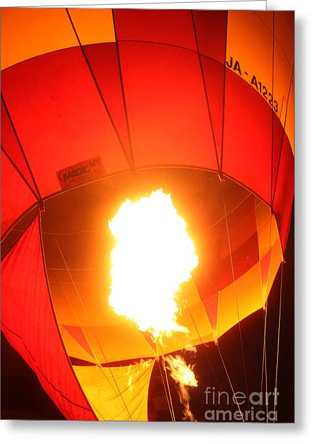 Balloon-glow-7917 Greeting Card by Gary Gingrich Galleries