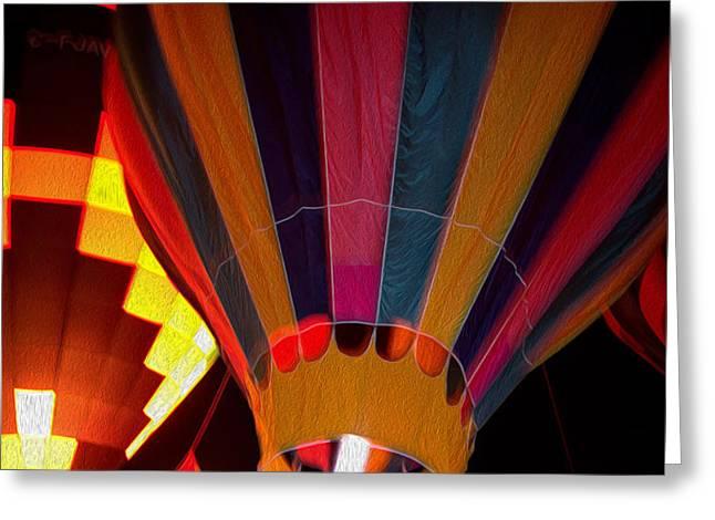 Balloon Glow Greeting Card