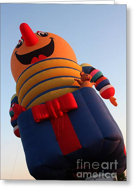 Balloon-jack-7660 Greeting Card by Gary Gingrich Galleries