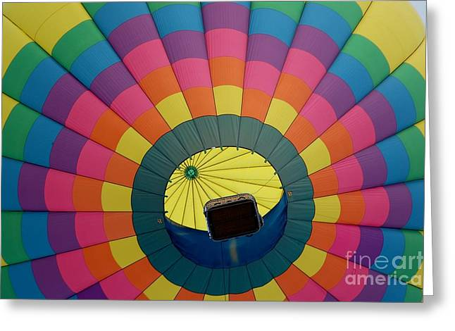 Balloon Lift-off  Greeting Card