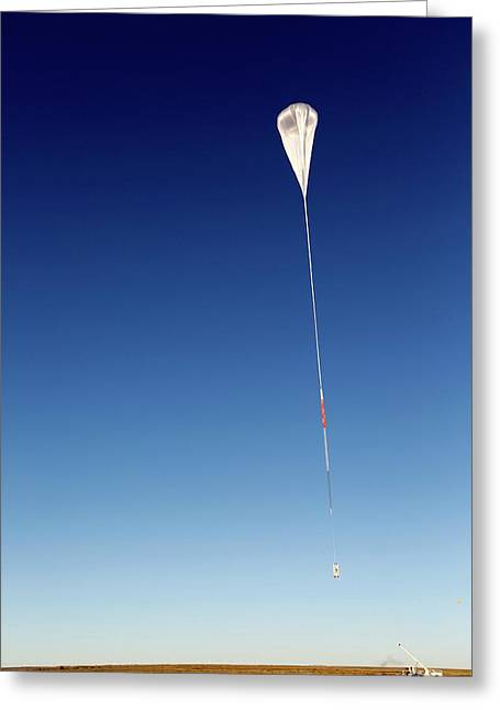 Balloon Rapid Response For Ison Launch Greeting Card by Nasa/jhuapl