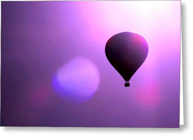 Balloon Ride Greeting Card