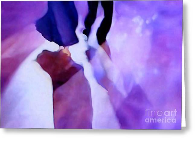 Ballroom Dance Floor Abstract 10 Greeting Card