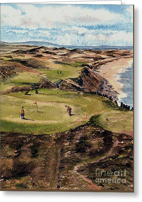 Kerry  Ballybunion G C Greeting Card