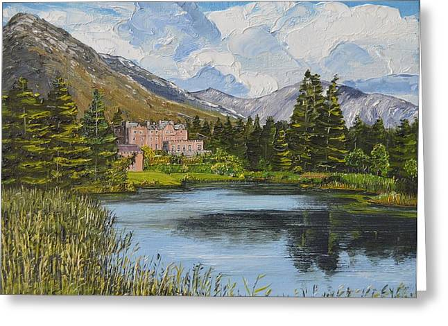 Ballynahinch Connemara Ireland Greeting Card