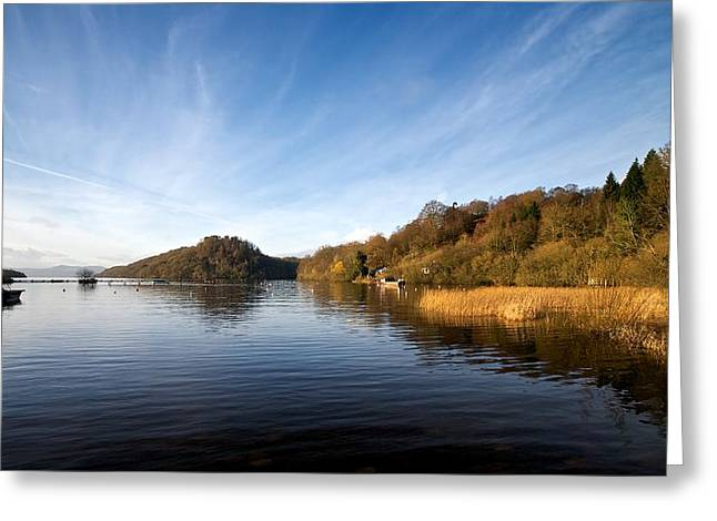 Greeting Card featuring the photograph Balmaha by Stephen Taylor