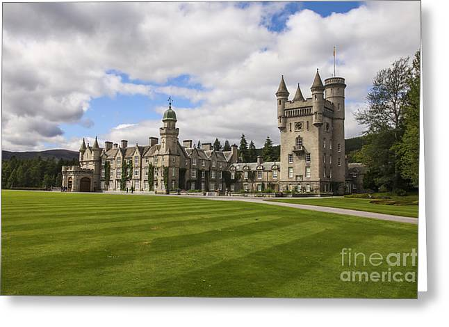 Balmoral Castle Greeting Card by Patricia Hofmeester