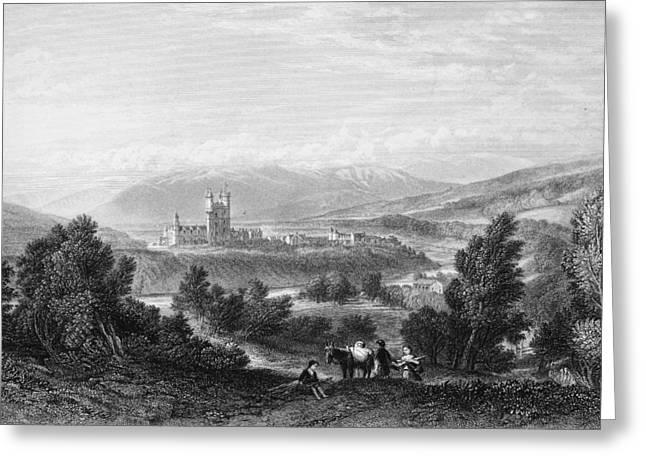 Balmoral Castle, Scotland Greeting Card by Granger