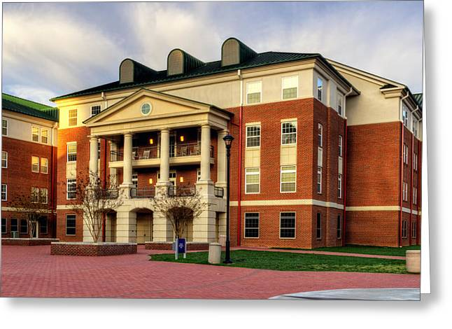 Balsam Residence Hall - Wcu Greeting Card