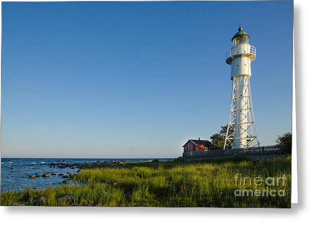 Baltic Sea Lighthouse Greeting Card