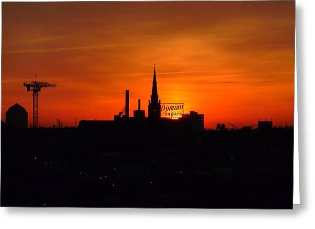 Baltimore Dawn Greeting Card