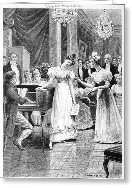 Balzac: A Woman Of Thirty Greeting Card by Granger