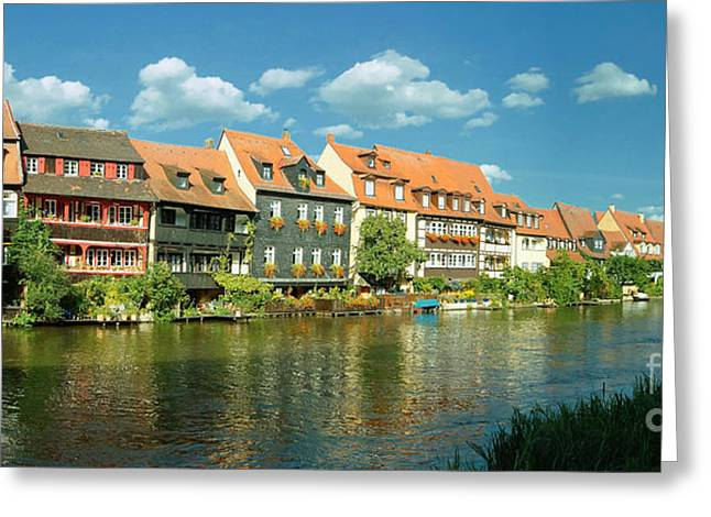 Bamberg Little Venice 1 Greeting Card
