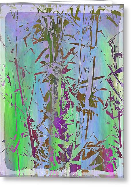 Bamboo Study 1 Greeting Card by Tim Allen