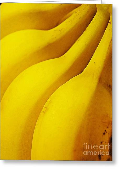 Bananas Greeting Card by Sarah Loft