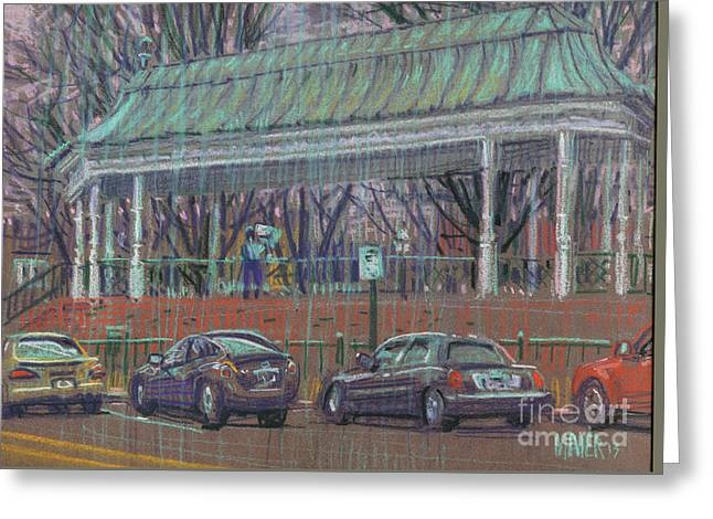 Band Stand Greeting Card