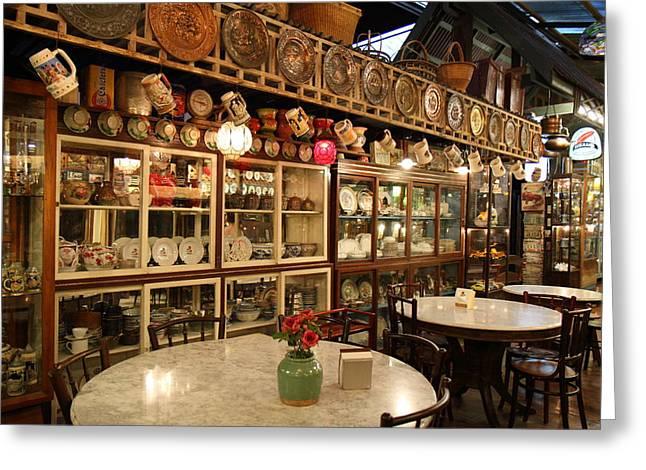 Banmai Resort And Restaurant - Pak Chong Thailand - 011325 Greeting Card by DC Photographer