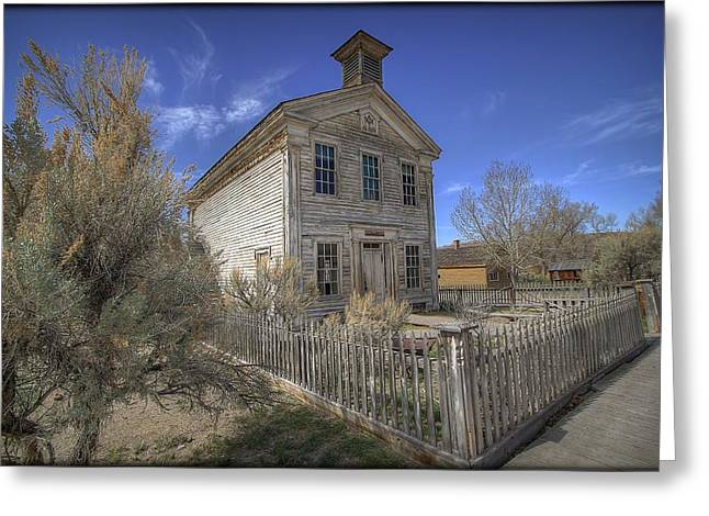 Bannack Lodge # 16 Greeting Card
