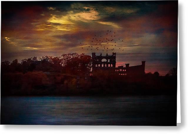 Bannerman Castle Ruins Greeting Card
