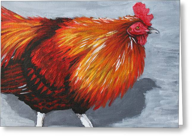 Bantam Rooster 2 Greeting Card