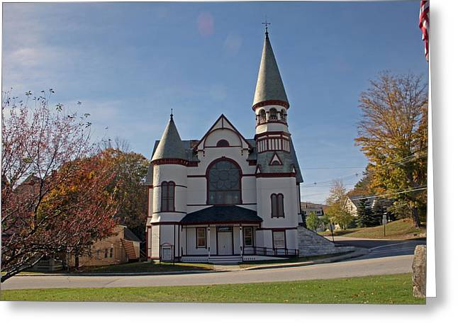 Baptist Church Greeting Card