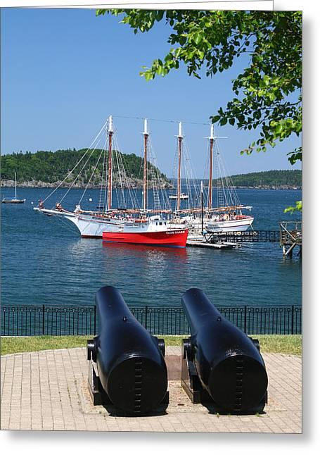 Bar Harbor Greeting Card by Acadia Photography