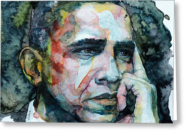 Barack Greeting Card