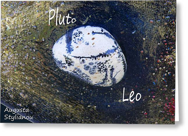 Barack Obama Pluto Greeting Card by Augusta Stylianou