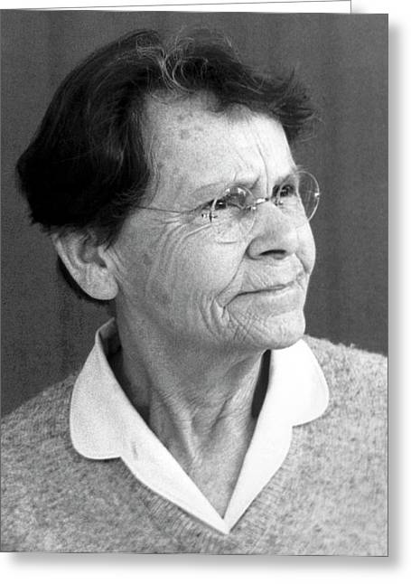 Barbara Mcclintock Greeting Card