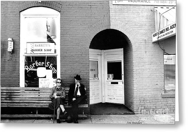 Barber Shop Watertown Tennessee Greeting Card by   Joe Beasley