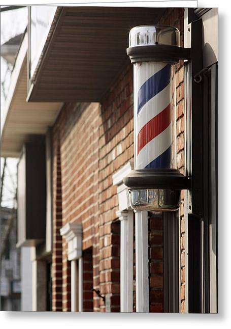 Barber Smithtown New York Greeting Card