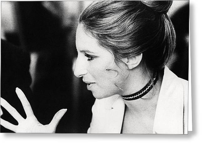 Barbra Streisand In What's Up, Doc?  Greeting Card by Silver Screen