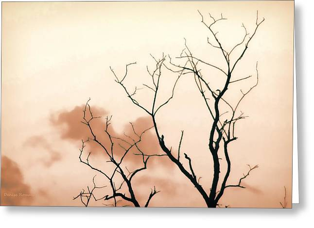 Bare Limbs Greeting Card