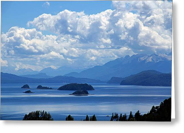 Bariloche Argentina Greeting Card by Jim McCullaugh
