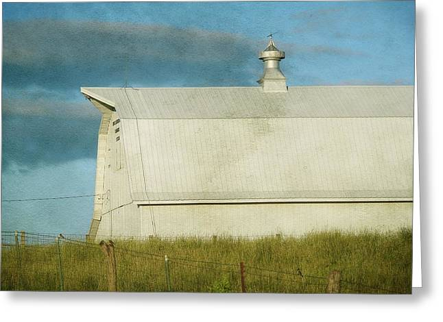 Barn  Greeting Card by Cassie Peters