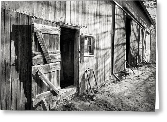 Barn Doors Greeting Card