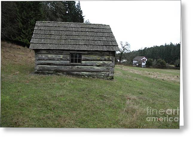 Barn Greeting Card by Graham Foulkes
