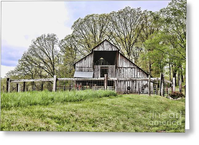 Barn II Greeting Card by Chuck Kuhn
