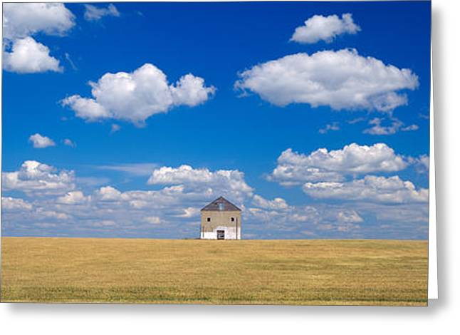 Barn In The Farm, Grant County Greeting Card