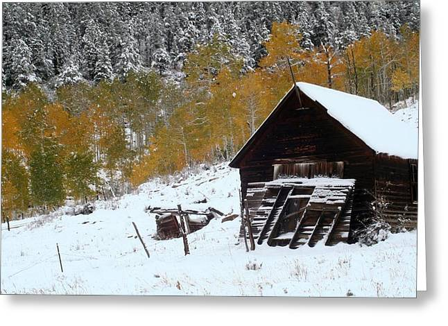 Barn In The San Juan Mountains Greeting Card by Jetson Nguyen