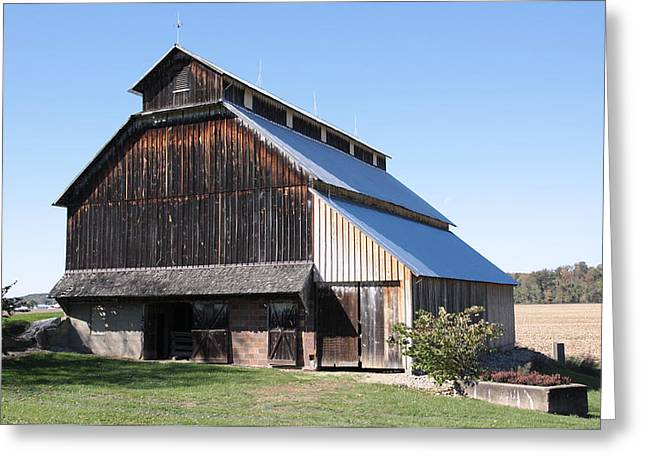 Barn On Hawkins Road Greeting Card