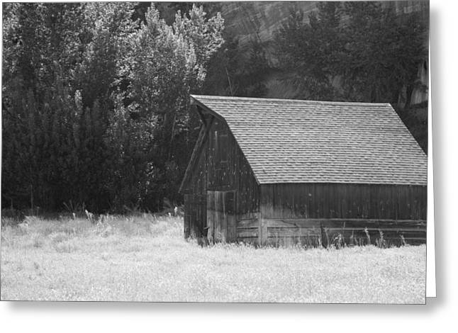 Barn Out West Greeting Card