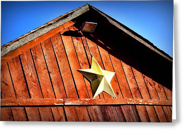 Barn Star Greeting Card by Cricket Hackmann