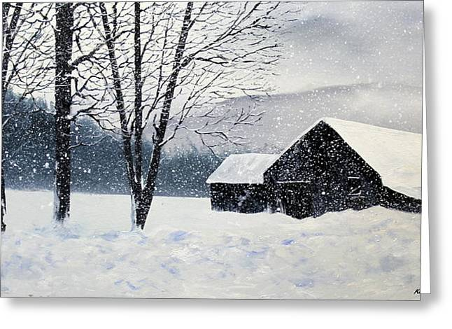 Barn Storm Greeting Card